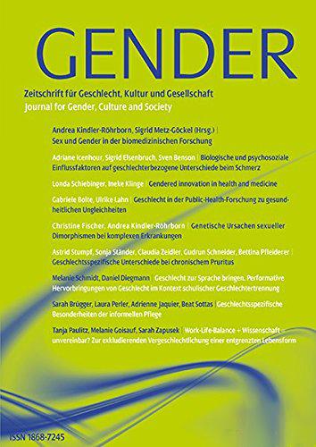 Gender. Zeitschrift für Geschlecht, Kultur und Gesellschaft