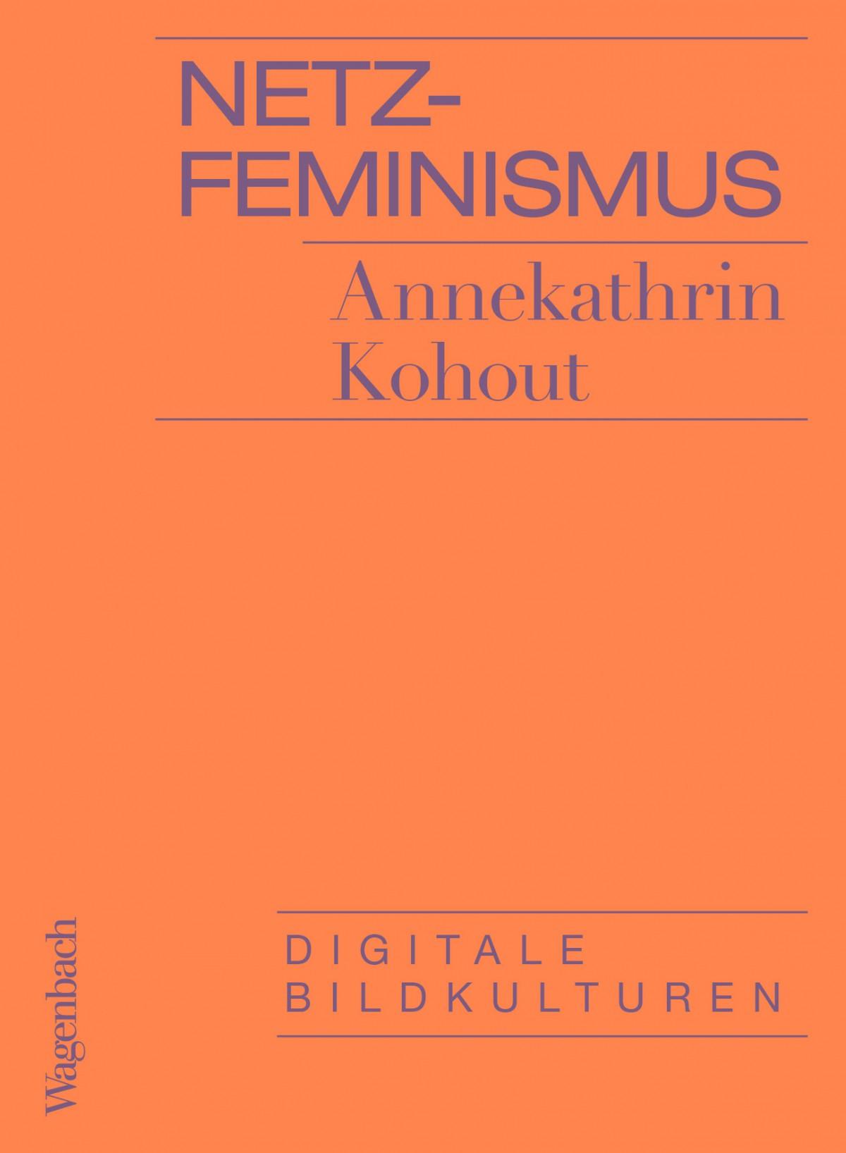 Buchcover: Netzfeminismus